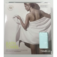 Полотенце банное вафельное 80х150 см