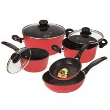 Набор посуды из 8 предметов «Красный»