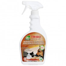TRI-BIO Биосредство от запахов и пятен от домашних животных 420мл