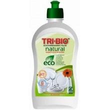 TRI-BIO Натуральная Эко-жидкость для мытья посуды 420мл