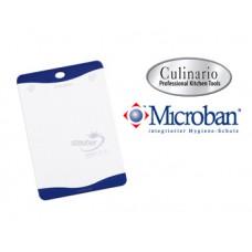 Разделочная доска с антибактериальной защитой Microban 29х20 белая