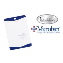 Разделочная доска с антибактериальной защитой Microban 36х25 белая