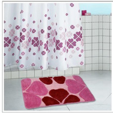 Коврик в/к 60/100 HJ-T1124 Виолетта розовый