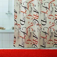 Штора для ванной 180х200 Lettere