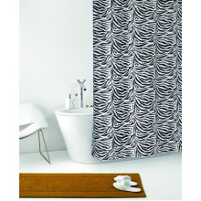Штора для ванной 180х200 Zebra